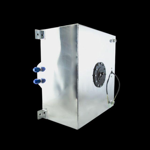 VR RACING-60L Aluminium Fuel Surge tank with sensor  Fuel cell 60L with Cap/ foam inside VR-TK41