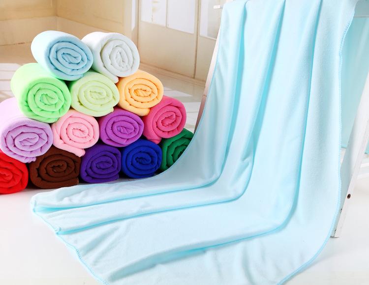 Wholesale 70*140cm super soft Microfiber Bath towel beach Fast Drying Washcloth cheap bath towel toalla playa(China (Mainland))