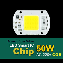 Smart IC LED Lamps Chip led bulb 220V 5W 10W 20W 30W 50W 90W Cold White/Warm White For Outdoor FloodLight(China (Mainland))