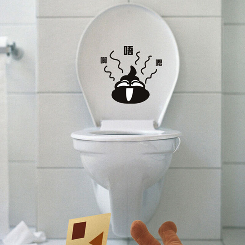 sell like hot cakes custom make toilet wall stickers how to make wall stickers