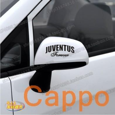Reflective car stickers car stickers affixed to Juventus one pair mounted mirrors 1585  Pegatinas de coches Adesivos de carro<br><br>Aliexpress