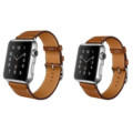 1 1 Original Design Single Tour Standard Leather Band For hermes Apple Watch Band Wrist Strap