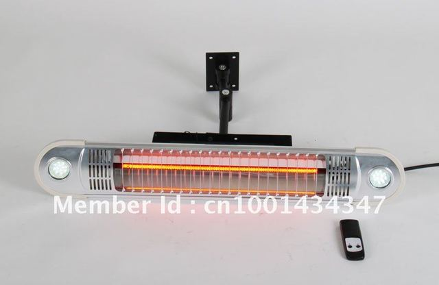 Nice!!! Household appliances electric Remote intelligent heater with led light