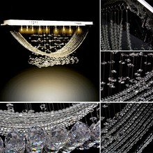 Hot sale Crystal Chandelier Light, Crystal Pendant Lamp, Crystal Luster Lighting With 8 G4 lights 58(China (Mainland))