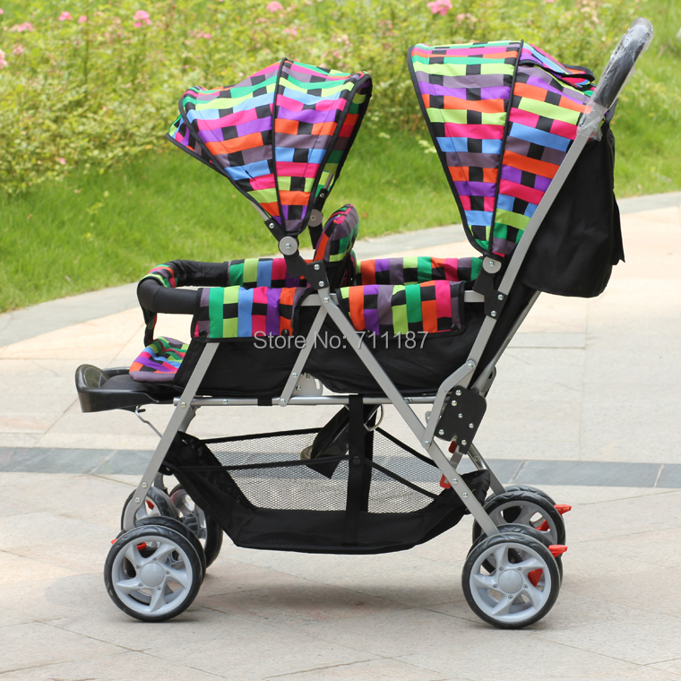 Luxury Infant Double Strollers,Most Innovative Structure Design,Babies Carriage for Twins,Easy Communication Twins Pram Seller<br><br>Aliexpress