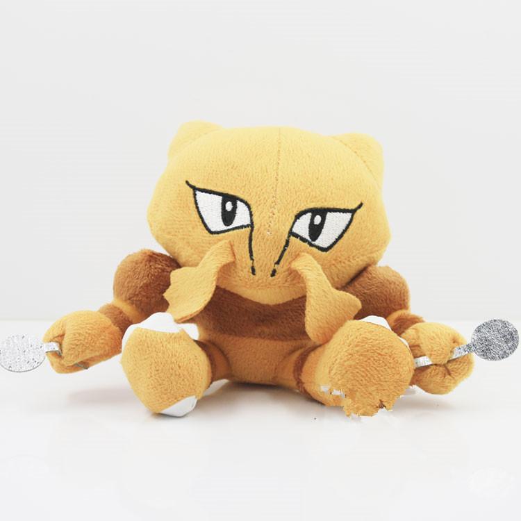 New Arrival 6pcs/lot Pokemon Plush Toy Aalakazam Stuffed Doll With Tag 12cm Free Shipping <br><br>Aliexpress