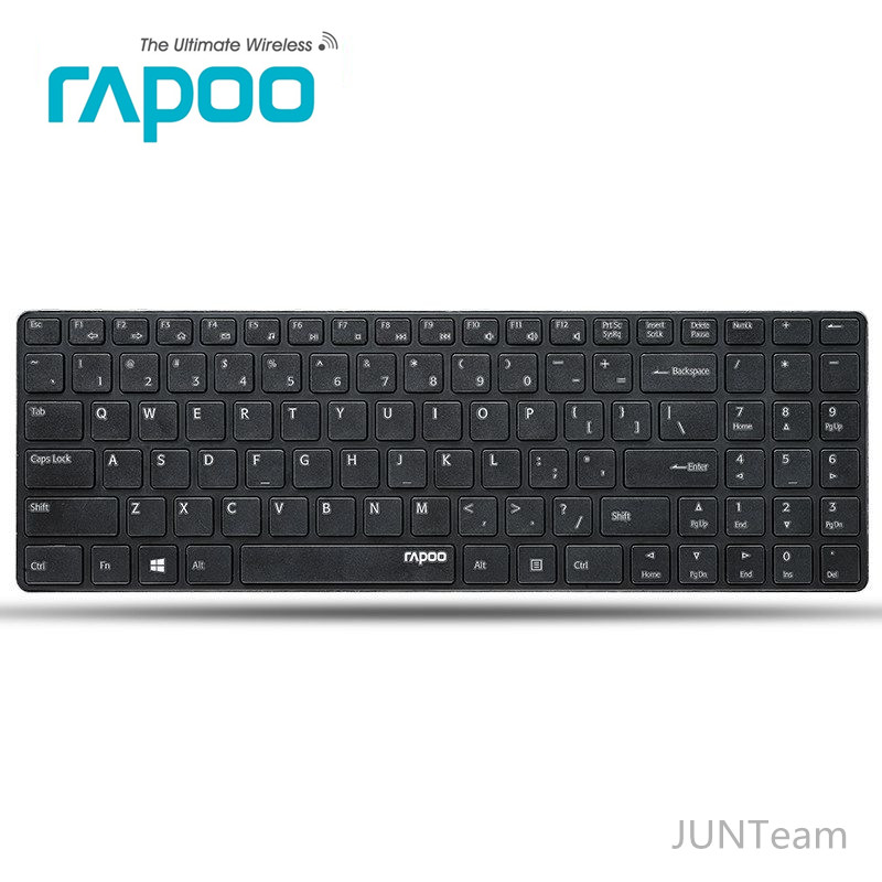 Rapoo E9100P Ultra Thin Metal Design 5G 5.8G Wireless Laptop Keyboards, Brand Quality Professional Ergonomic Slim Mini Keyboard<br><br>Aliexpress
