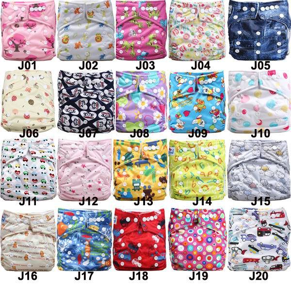 2015 Momy Gifts Super absorbent Manufacturer Price Baby Cloth Diapers 50pcs+ 50pcs Microfiber inserts(China (Mainland))