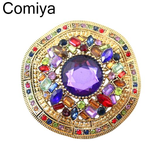 Comiya bride synthetic gemstone fashion bijoux brooch for wedding pin up acrylic wedding dress cachecol Brooches jewelry 2016(China (Mainland))