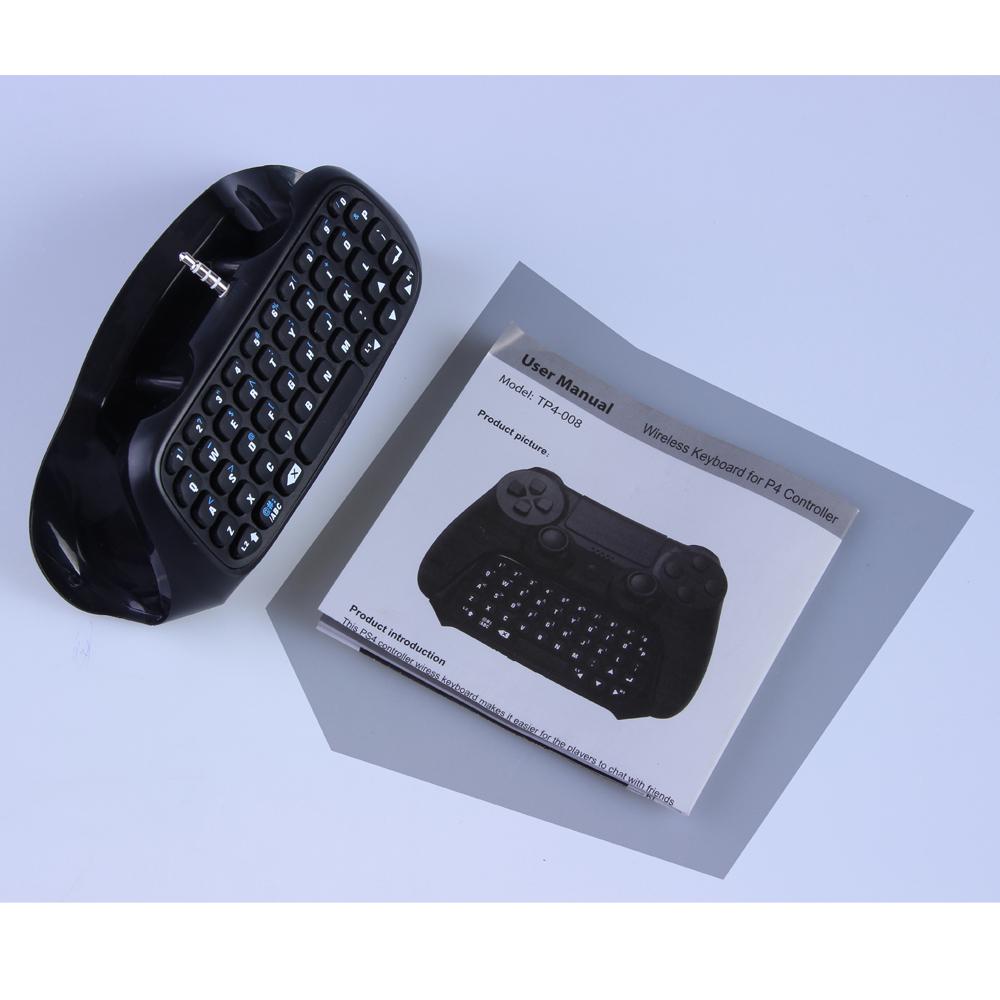 PS4 Wireless Bluetooth Gamepad Joystick Keyboard Message Controller Sony Playstation Black - HongKong IT Shop store