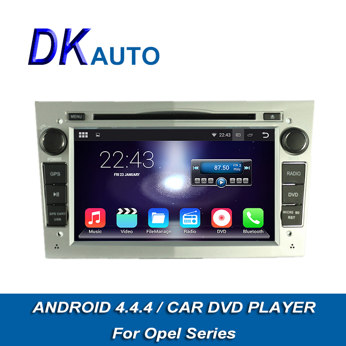 """GPS Navigation 1024*600 Capacitive Screen Car DVD For Opel Pure Android 4.4.4 2 Din 7"""" Audio Player Wifi Music SWC Radio DVB T(China (Mainland))"""
