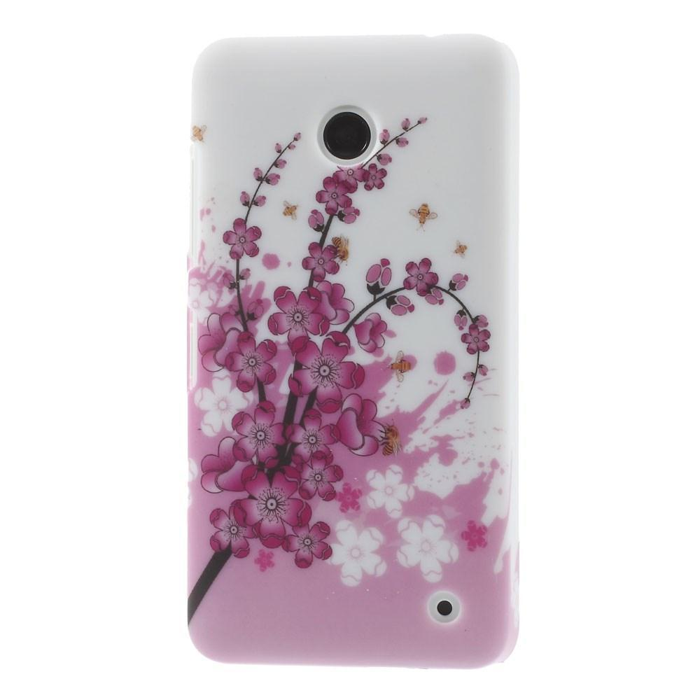 Flowers For Nokia Lumia 635 630 Plum Blossom PC Hard Protective Back Shell Phone Case for Nokia 630(China (Mainland))