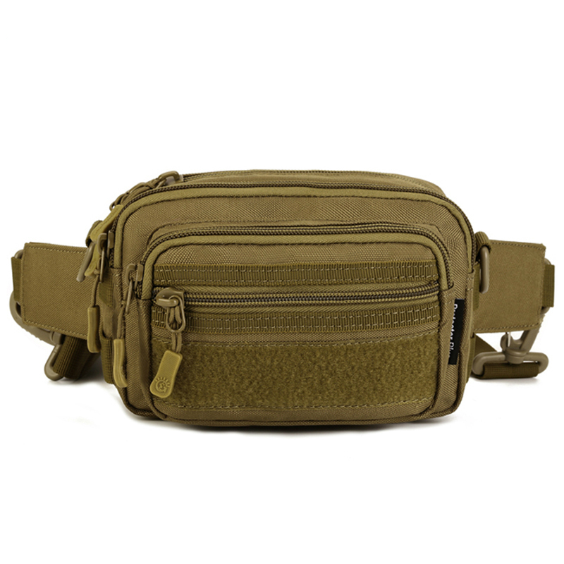 Tac tical Hand Bag Men Out door Waist Bag Small Shoulder Bag Military Molle EDC Equipment Army Gear Bag 709(China (Mainland))