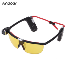 Andoer HD 1080P 30 FPS Sunglasses Handsfree Wifi Action Sports Camera Camcorder Video Recorder DV DVR 140 Wide Angle with Mic(China (Mainland))