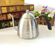 Buy 1PC Free 1L Stainless Steel Coffee Hot Water Coffee Pot Espresso Coffee Server for $26.99 in AliExpress store