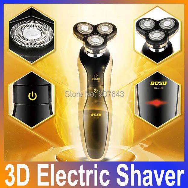 Новый высокое качество бритвы горячей продажу 4D электрическая бритва моющийся аккумуляторная уход за лицом 3D плавающей бритвы для мужчин для бритья