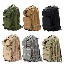MY5304 2015 Hot Sale Men Women Outdoor Military Army Tactical Canvas Backpack Camping Hiking Trekking Sport Camouflage Backpack
