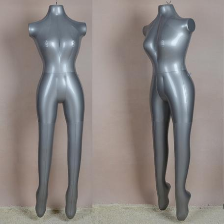 Hot Sale!! New Inflatable Female Mannequin Female Full Body Without Arm For Sale(China (Mainland))