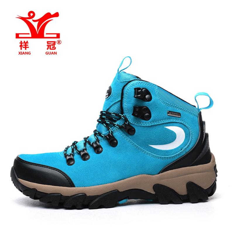 New Xiangguan fashion waterproof hiking shoes boots Anti-skid Wear resistant breathable fishing shoes climbing high shoes