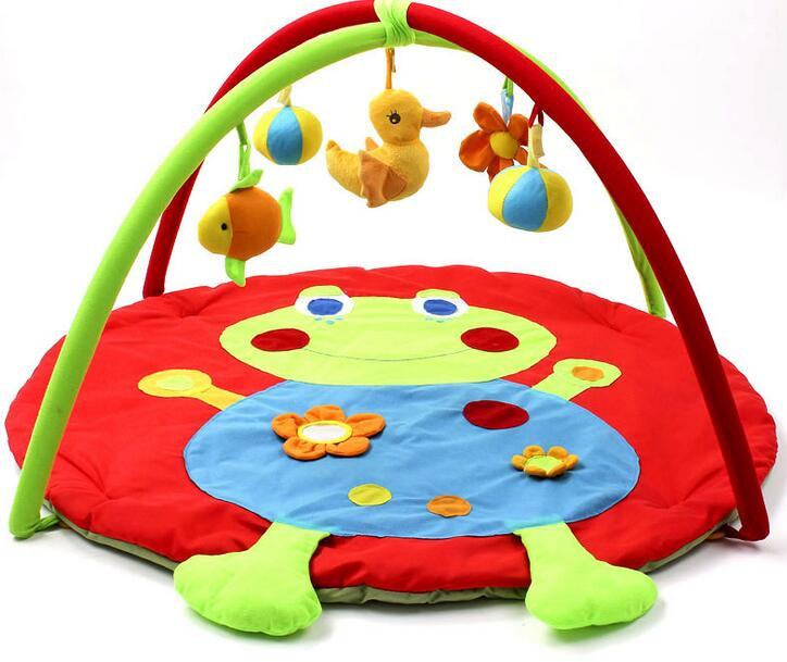 Portable Baby Play Mats Educational Toys Frog Baby Crawling Mats Baby Cushion 0-12 Month Baby Toys Mats<br><br>Aliexpress