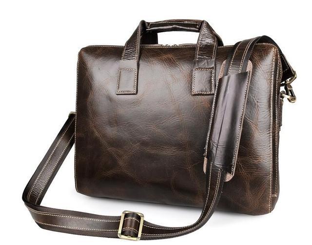 2016 новинка мужская портфели бизнес сумки сумка мужской подлинной корова кожаные ...