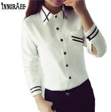 Fashion female elegant bow tie white blouses Chiffon turn down collar shirt Ladies tops school blouse Women Plus Size NS1010(China (Mainland))