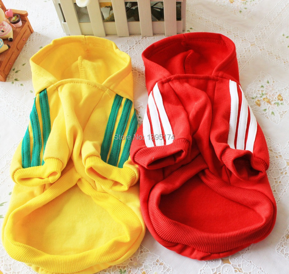 Free Shipping Cat Pet Dog Clothes Summer Winter Hoodie Coat Jumpsuit Sweater Adidog Clothing for Large