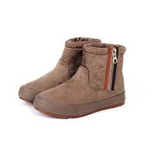 2020 Ủng Nữ Mùa Đông Giày Plus Ấm Giày Cho Mùa Đông Lạnh Giá Thương Hiệu Thời Trang Nữ Giày Nữ Thương Hiệu Mắt Cá Chân botas A324(China)