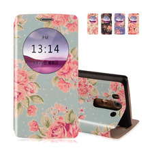 """Buy Printing View Window PU Leather Case LG G3 Beat G3S G3 mini D722 D725 D728 D724 5.0"""" Cover stand Phone Protect Case for $3.56 in AliExpress store"""