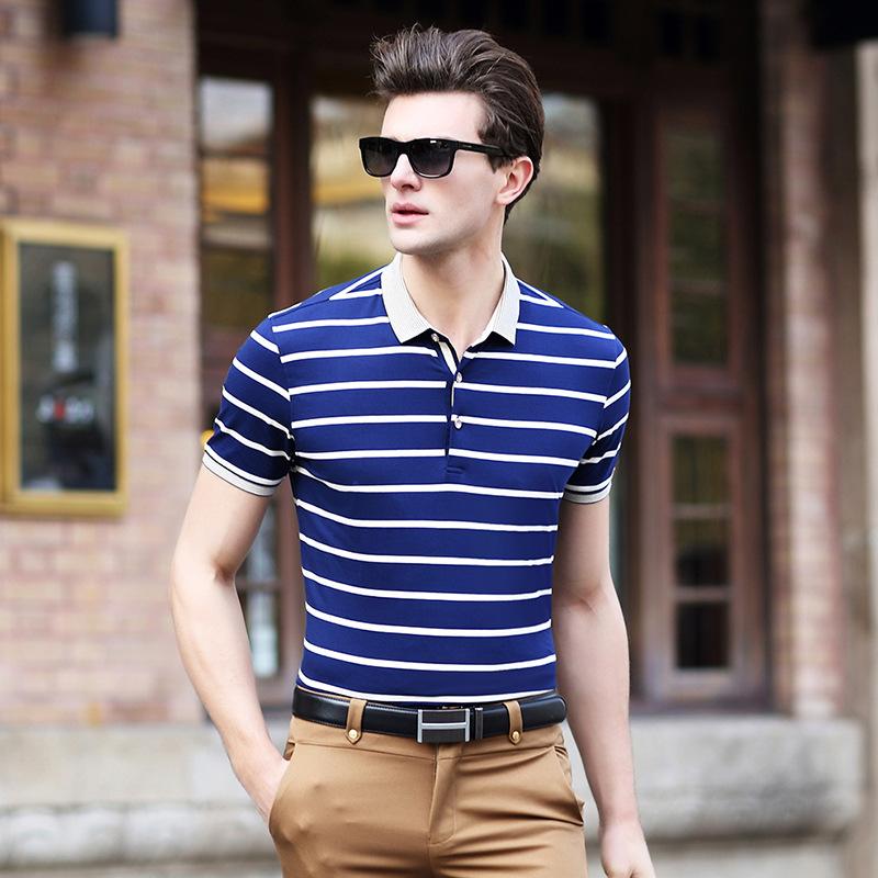 Hot Sale! Summer Polo Shirt Men Brand Short Sleeve Slim Cotton Camisa Polo Masculina Casual Tops Tees Shirt 2016 C348(China (Mainland))