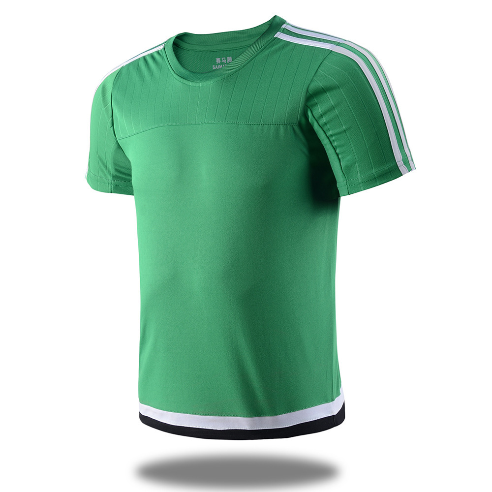 Soccer Jerseys Breathable Polyester Suit Light Board Football JerseysTraining Suit Club Customized Special Font For Printing(China (Mainland))