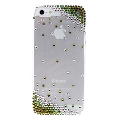 Special Design Shining Diamond Transparent Hard Phone Cases for apple iphone 5 5s 3D Rhinestone Cell Phones Cases(China (Mainland))