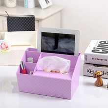 Creative multi-functional desktop storage box of toilet tissue box European car bedroom home receiving box(China (Mainland))