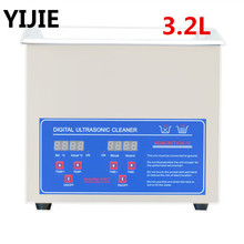 YIJIE 3.2L Ultrasonic Cleaner Heat Family Expenses Ultrasonic Cleaning Dental Jewelry Ultrasonic Jewellery Cleaner(China (Mainland))