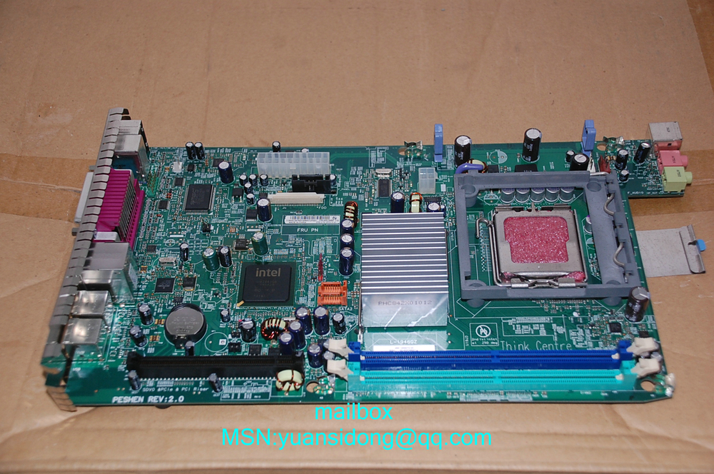 100% tested  For ThinkCentre M55e A55 946GZ Desktop Motherboard   FRU:87H4659  43C3480 42Y3274 work perfect
