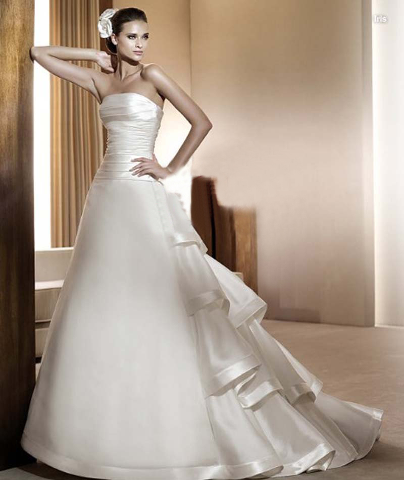 Ctrlstyle 2014 new design high qulity ball gown wedding for Wedding dress free shipping