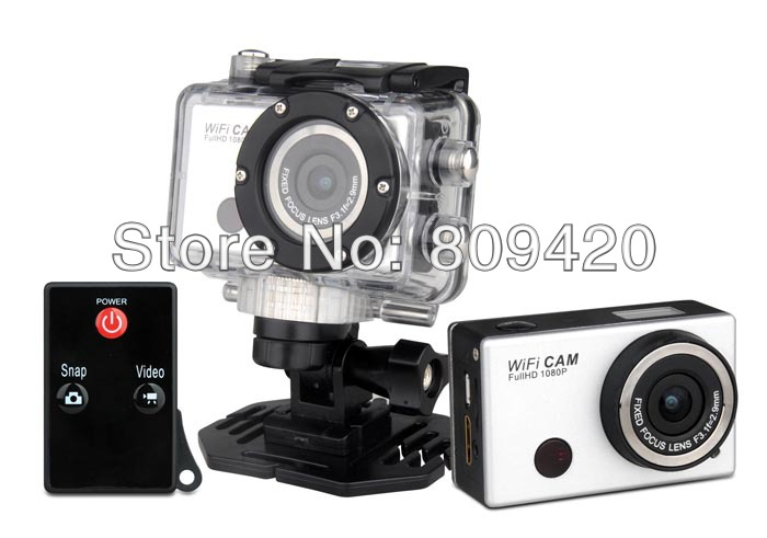5.0MP Full HD 1080P Underwater Wifi Action Camera Sport Cam DV Phone/Tablet (Android IOS) Mini Camcorder - JST-Shop store