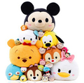 Retail 1pcs/lot Tsum Tsum Plush toy Mickey doll Duck toys Cute elf doll Screen Cleaner for iPhone tsum tsum Plush toy