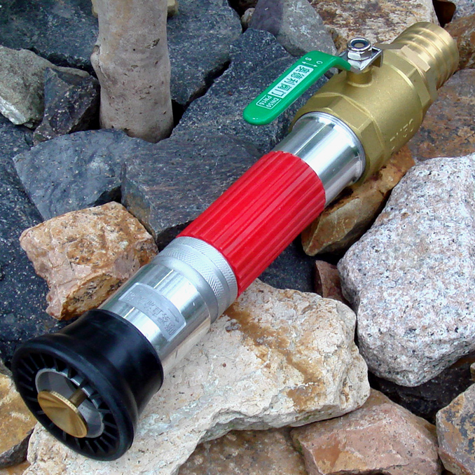Inches large flow valve switch adjustable DC Fire paragraph flowering garden use of water cannon nozzle<br><br>Aliexpress