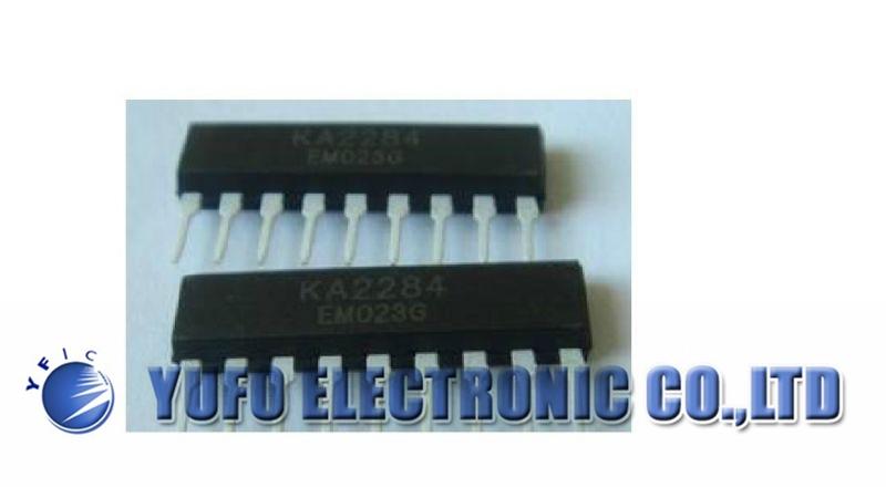 Free Shipping One Lot 10 PCS KA2284 5 DOT LED LEVEL METER DRIVER DIP-9 New(China (Mainland))