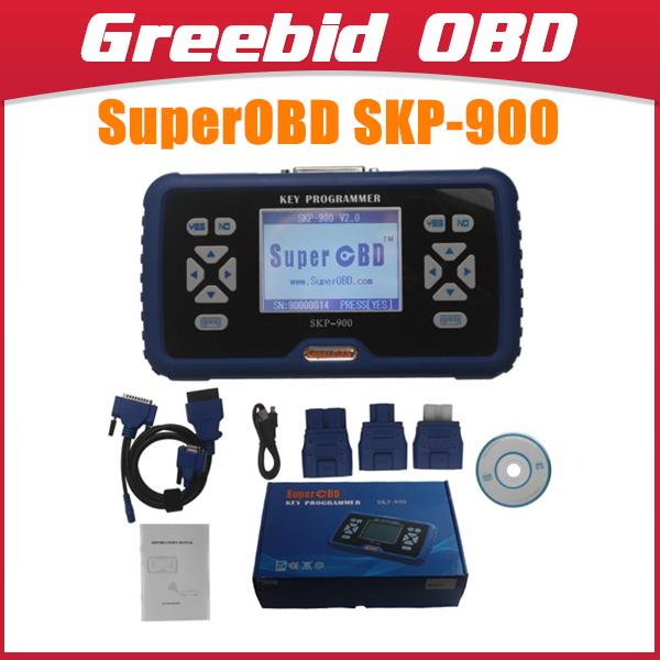 SuperOBD SKP-900 Hand-held OBD2 Auto Key Programmer V3.5 SK-P900 SKP900 Programmer SKP900 Key Programmer(Hong Kong)