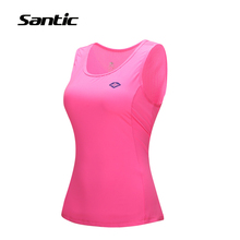 Buy 2017 Santic Women Cycling Jersey Sleeveless Breathable Quick Dry MTB Road Bike Bicycle Running Underwear Shirts Gilet Clothing for $18.17 in AliExpress store