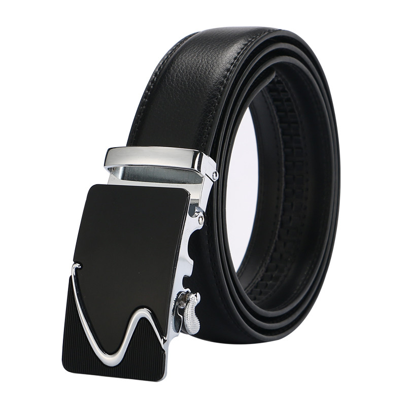 HTB1cnHoQFXXXXbgXFXXq6xXFXXXK - Free shipping 2017 men's fashion100% Genuine Leather belts for men High quality metal automatic buckle Strap male Jeans cowboy