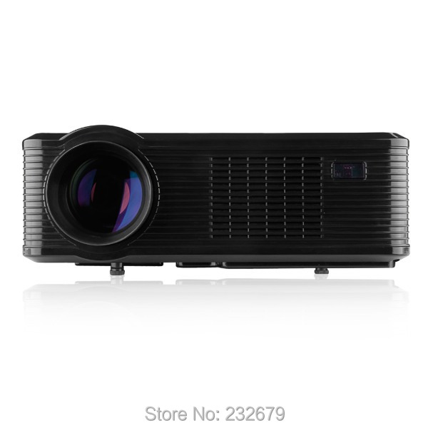 portable led projector digital projector with2400  lumens support 720p,1080p,support 3d