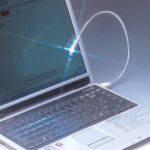 10pcs/lot Wholesale Flexible LED Bright White USB snake mini light notebook laptop PC Night Reading lamp  CG0009