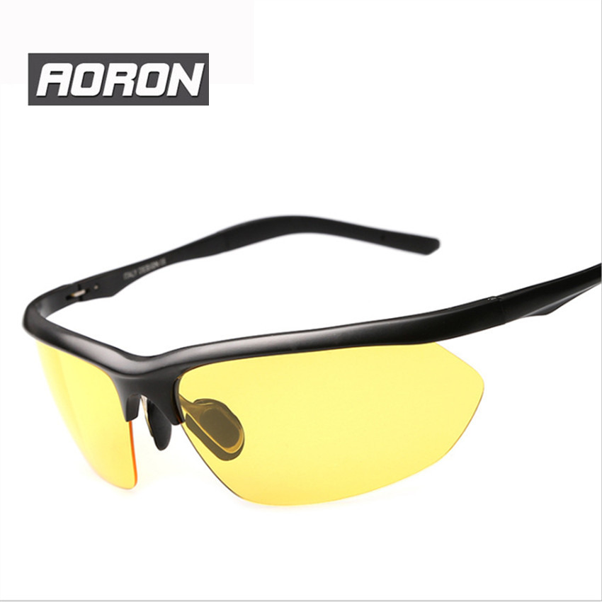 New arrival Night Vision Goggles Glasses Men Driving Polarized Sunglasses Yellow Lens Classic UV400 Eyewear High Definition(China (Mainland))