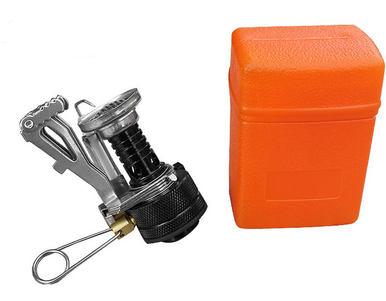Mini Backpacking Outdoor Gas Butane Propane Canister Camping Stove Fold(China (Mainland))