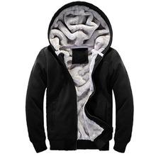 Brand Clothing 2016 Mens Hooded Hoodies Men Sweatshirt Fashion Hoody Thick Warm Hoodie Cotton Slim Male Coat Outerwear Plus Size(China (Mainland))