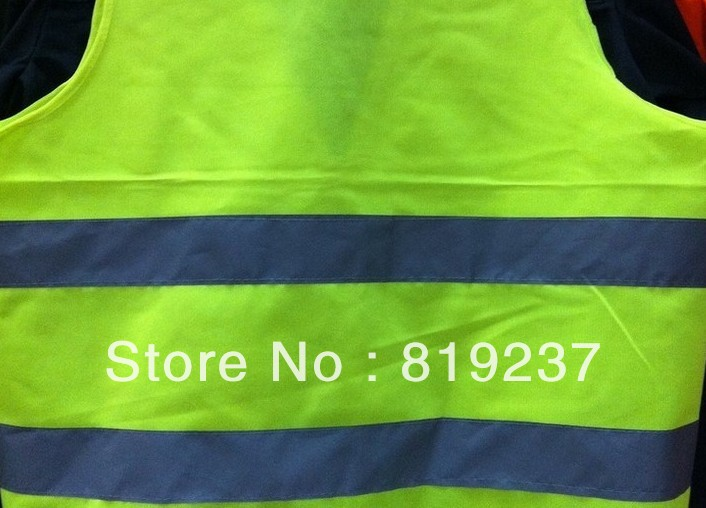 Personalised Safety Cothing,Wholesale Custom Printed Refective Vest,Imprinted Logo Advertising Promotional Refective Clothes