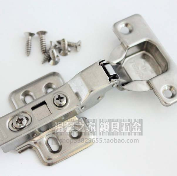 [Red crown] Sky 267 stainless steel hydraulic damping hinge mounted solid / buffer hinge / hydraulic hinge / Bending(China (Mainland))